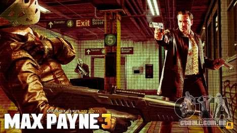 Arranque telas de Max Payne 3 HD para GTA San Andreas sexta tela