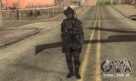 Personalizado из CoD:Ghost para GTA San Andreas segunda tela