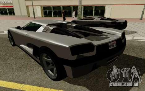 GTA 5 Overflod Entity XF para GTA San Andreas vista direita