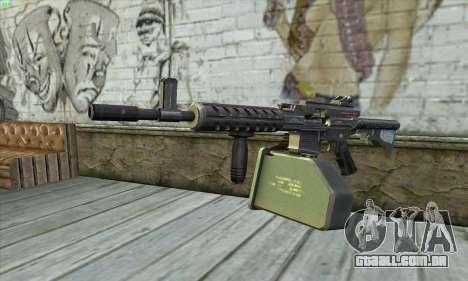 M4 Gunner para GTA San Andreas