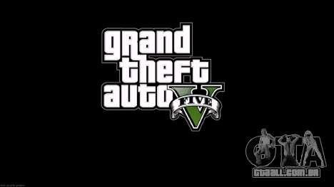 Os ecrãs de carregamento estilo de GTA 5 para GTA San Andreas