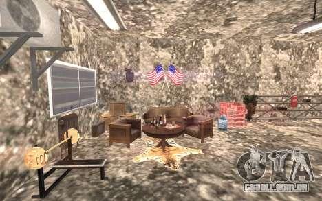 O porão da casa de Carl para GTA San Andreas terceira tela