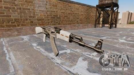 A AK-47 Camo AÇU para GTA 4