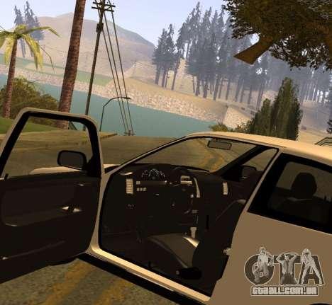 ВАЗ 2112 GVR Versão 1.1 para GTA San Andreas vista direita