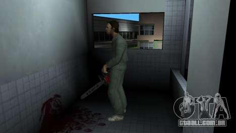 Motosserra Taiga para GTA Vice City terceira tela