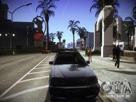 ENBseries para PC fraco v2.0 para GTA San Andreas por diante tela