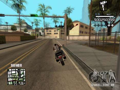 C-HUD By Kapo para GTA San Andreas sexta tela