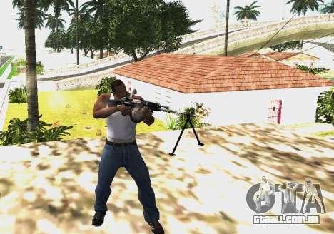 RPK-203 para GTA San Andreas segunda tela
