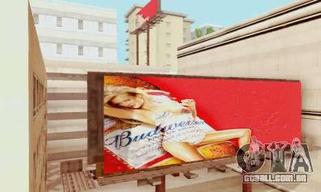 Novo de alta qualidade publicidade em cartazes para GTA San Andreas