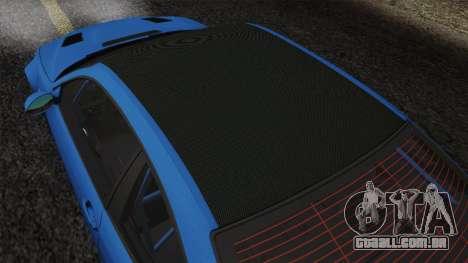 BMW M3 E46 GTR 2005 para vista lateral GTA San Andreas
