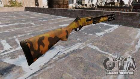 Riot espingarda Remington 870 Queda Camos para GTA 4 segundo screenshot
