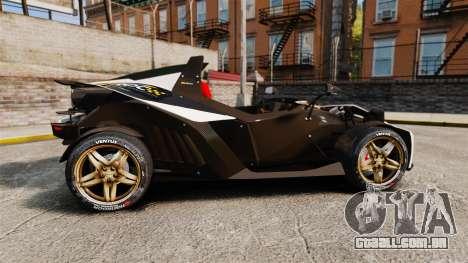 KTM X-Bow R [FINAL] para GTA 4 esquerda vista