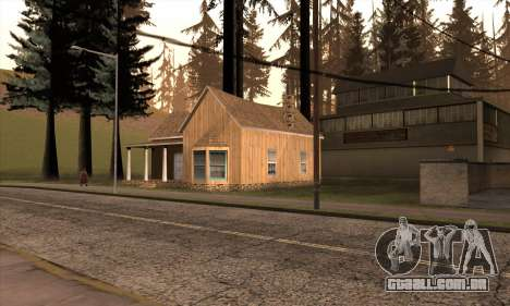 Nova casa do Sijia em Angel Pine para GTA San Andreas