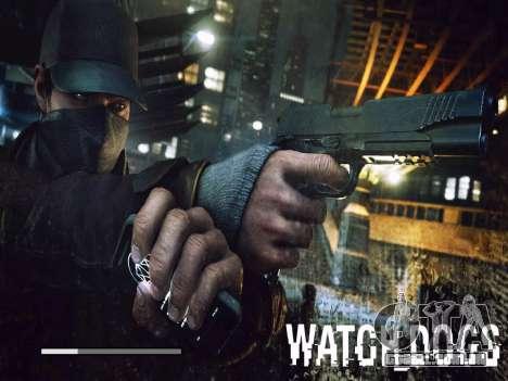 Arranque telas e menus de Watch Dogs para GTA San Andreas