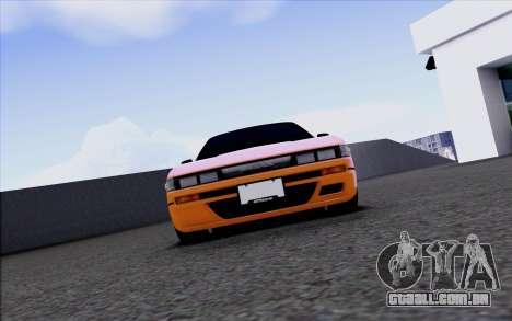 Nissan Silvia S13 para GTA San Andreas vista interior