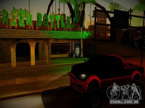ENBSeries para PC fraco v3.0 para GTA San Andreas terceira tela