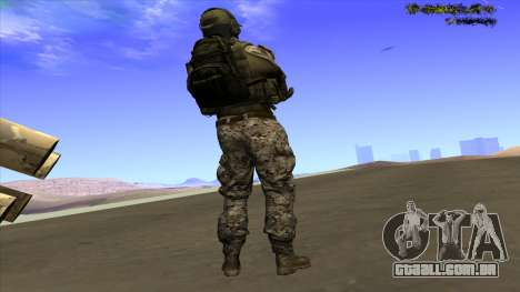 U.S. Navy Seal para GTA San Andreas segunda tela