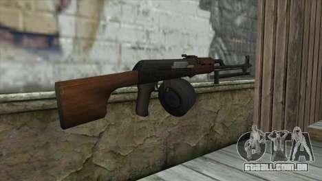 RPK Machine Gun para GTA San Andreas segunda tela