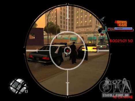 C-HUD Admins Team para GTA San Andreas sexta tela