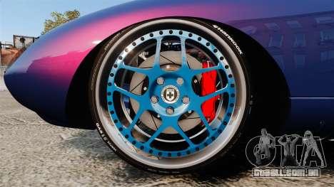 Shelby Cobra Daytona Coupe para GTA 4 vista de volta
