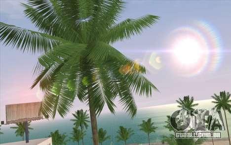 IMFX Lensflare v2 para GTA San Andreas por diante tela