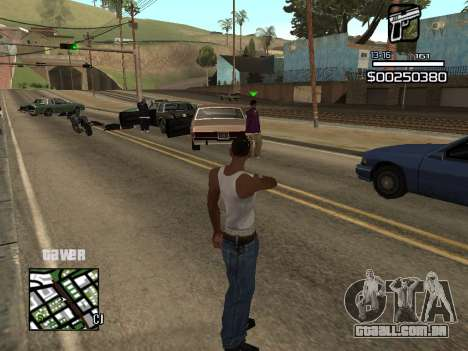 C-HUD By Kapo para GTA San Andreas terceira tela
