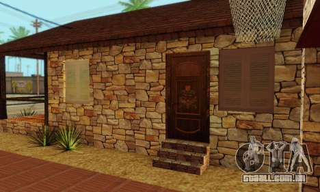 Nova casa do big Smoke para GTA San Andreas sexta tela