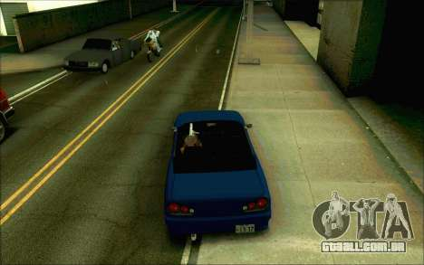 Elegia Tóquio Conversível para GTA San Andreas traseira esquerda vista