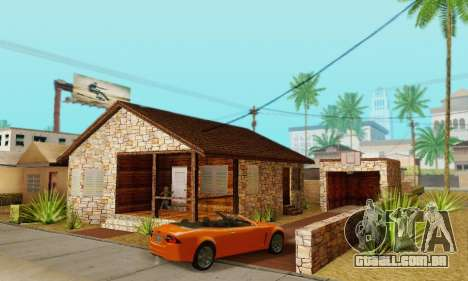 Nova casa do big Smoke para GTA San Andreas