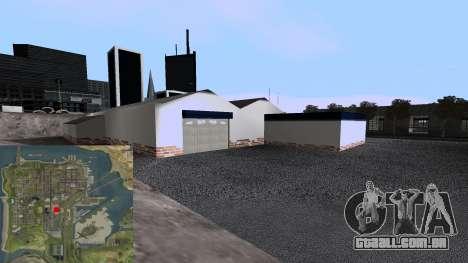 Nova Garagem para GTA San Andreas quinto tela