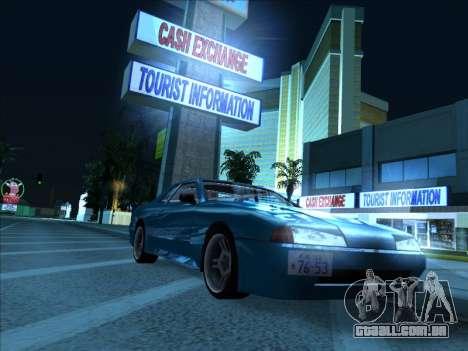 Elegy With a Pipe v1.2 para GTA San Andreas traseira esquerda vista