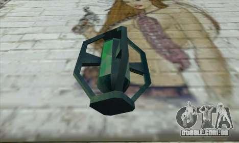 Greengoo alien liquid grenades para GTA San Andreas segunda tela
