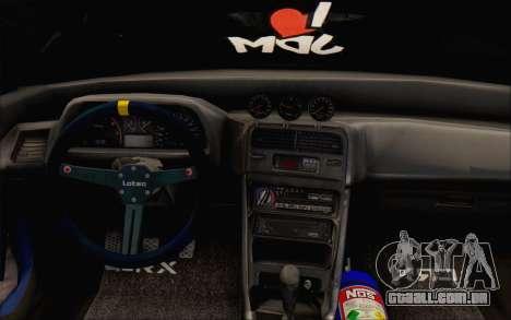 Honda cr-x, Turquia para GTA San Andreas vista traseira