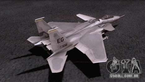 F-15S para GTA San Andreas vista interior