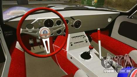 Shelby Cobra Daytona Coupe para GTA 4 vista superior