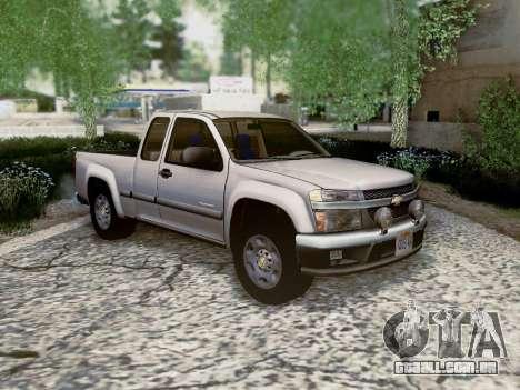 Chevrolet Colorado para GTA San Andreas