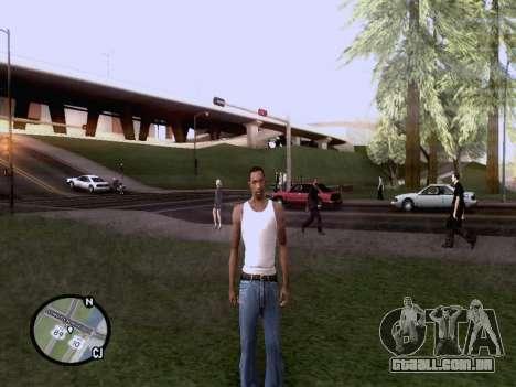 O novo mapa em HD para GTA San Andreas por diante tela