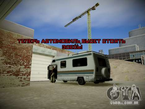 Journey mod: Special Edition para GTA San Andreas twelth tela