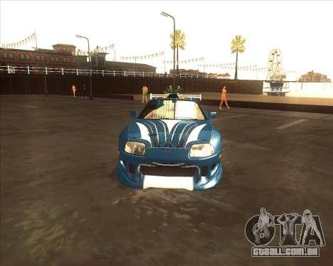 Toyota Supra из NFS Most Wanted para GTA San Andreas vista direita