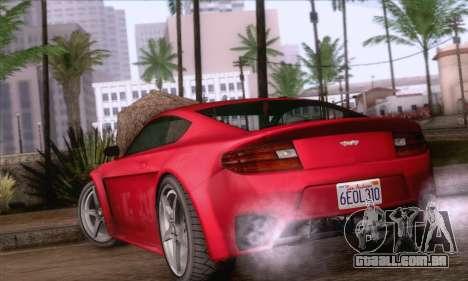 GTA V Rapid GT para GTA San Andreas esquerda vista