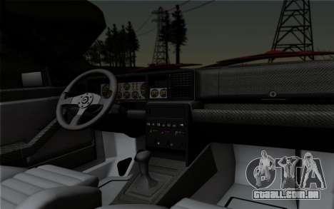 Lancia Delta HF Integrale Evo2 para GTA San Andreas vista interior