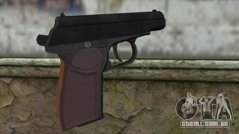 Makarov Pistol para GTA San Andreas segunda tela
