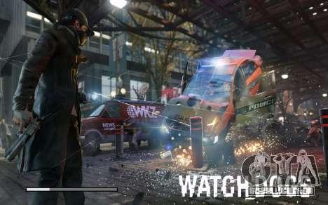 Arranque telas e menus de Watch Dogs para GTA San Andreas sétima tela