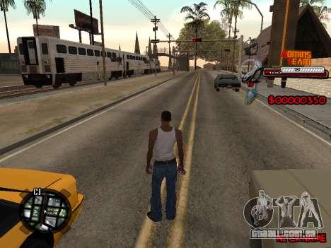 C-HUD Admins Team para GTA San Andreas terceira tela