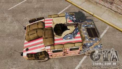 HMMWV M1114 Freedom para GTA 4 vista direita