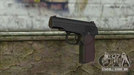 Makarov Pistol para GTA San Andreas