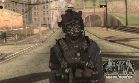 Personalizado из CoD:Ghost para GTA San Andreas