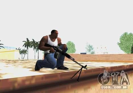 RPK-203 para GTA San Andreas por diante tela