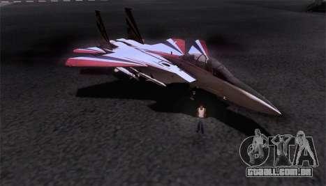 F-15S para GTA San Andreas interior