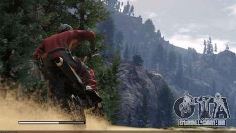 Os ecrãs de carregamento estilo de GTA 5 para GTA San Andreas quinto tela